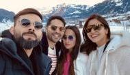 Virat Kohli-Anushka Sharma stumbles into Varun Dhawan-Natasha in Switzerland; see pics