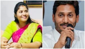 Andhra: Deputy CM P Pushpa Sreevani's TikTok post praising CM Jagan Reddy goes viral