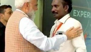 चंद्रयान-2: ISRO प्रमुख के सिवन ने खोला मोदी की झप्पी का राज, किया ये बड़ा खुलासा