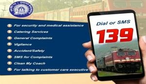 Railways announces integrated helpline number 139, service will be available in 12 languages