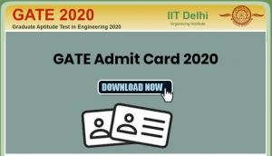 GATE 2020 Admit Card Released; Download now!