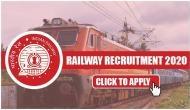 भारतीय रेलवे में इन पदों पर निकली वैकेंसी, बिना परीक्षा मिलेगी नौकरी, जल्द करें अप्लाई