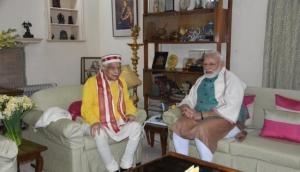 86 साल के हुए BJP के पूर्व अध्यक्ष मुरली मनोहर जोशी, PM मोदी ने घर जाकर दी बधाई