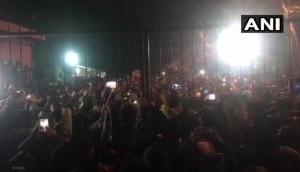 'Delhi Police, Go Back': JNU students raised slogans against cops [WATCH]