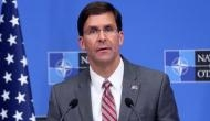 No decision on withdrawal of US troops from Iraq, says Defence Secretary Mark Esper