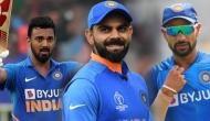 ऑस्ट्रेलिया के खिलाफ सीरीज से पहले दुविधा में कोहली, धवन या राहुल किसे मिलेगा मौका