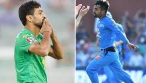 Watch: Historic twin hat-trick day as Rashid Khan, Haris Rauf pick 3 wickets in two separate contest