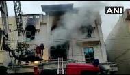 दिल्ली के पटपड़गंज इलाके में लगी आग, प्रिंटिंग प्रेस में आग लगने से 1 व्यक्ति की दर्दनाक मौैत