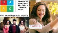 TRP Report Week 53: Nia Sharma's Naagin 4 at surprising position, Zee TV's Kundali Bhagya tops chart