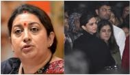 JNU Violence: Smriti Irani lashes out at Deepika Padukone for supporting those who want 'destruction of India'