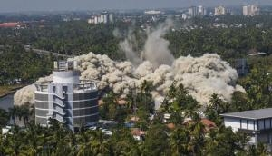 Kerala: Another illegal high rise demolished in Kochi [VIdeo]