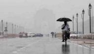 Delhi receives light rainfall with strong winds