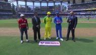 ऑस्ट्रेलिया ने टॉस जीतकर लिया गेंदबाजी का फैसला, टीम इंडिया में इन खिलाड़ियों को मिली जगह