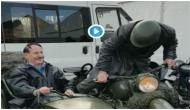 Dictator Adolf Hitler is back in Germany; fuehrer caught in camera