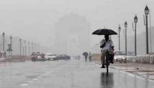 Delhi: Rain lashes parts of national capital, adjoining areas