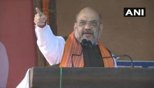गृहमंत्री अमित शाह ने कहा- भारत माता के टुकड़े करने वालों की जगह जेल में होगी