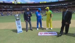 Ind vs Aus, 3rd ODI: Australia opt to bat in final ODI against India