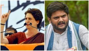 BJP repeatedly harassing Hardik Patel: Priyanka Gandhi