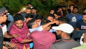 Kerala: 50 injured as temporary gallery of football ground collapses in Palakkad
