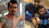 Yuzvendra Chahal shares shirtless picture of himself, Rohit Sharma trolls him hard [PICS]