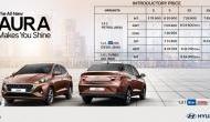 Hyundai ने लॉन्च की नई Aura, मारुति डिजायर को देगी टक्कर