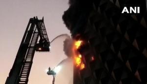 Gujarat: Major fire breaks out inSurat market, nocasualty reported