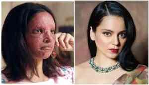 Kangana Ranaut lashes out at Deepika Padukone for her TikTok 'Chhapaak look challenge' demands apology