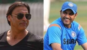 Shoaib Akhtar takes distasteful dig at Virender Sehwag for making a statement in 2016