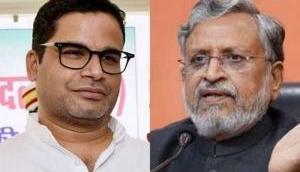 प्रशांत किशोर ने सुशील मोदी पर बोला हमला, बिहार में भिड़ी JDU और BJP