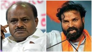 Karnataka: Health Minister Sriramulu asks ex-CM HD Kumaraswamy to go to Pakistan