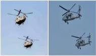 Republic Day 2020: Chinook, attack helicopter Apache make their debut flypast at parade