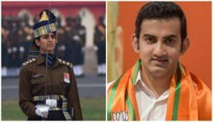 Republic Day Parade 2020: Gautam Gambir lauds Capt Tania Shergill who lead all-men contingent