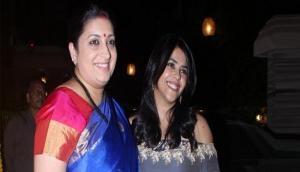 Smriti Irani shares birthday wish for BFF Ekta Kapoor's son Ravie; latter's reply wins Internet