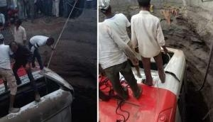 नासिक : जबरदस्त भिड़ंत के बाद कुएं में गिरे बस और ऑटो, अबतक 25 लोगों की मौत