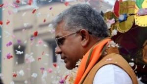 West Bengal: FIR against BJP leader Dilip Ghosh for his 'sexual remarks' against woman protester