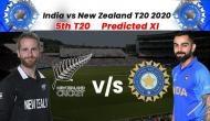 NZ vs IND 5th T20: क्लीन स्वीप करने के लिए इस प्लेइंग इलेवन के साथ उतर सकती है टीम इंडिया