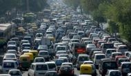 Traffic jam at Delhi-Noida border due to e-pass checking