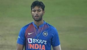 Shivam Dube savagely trolled for bowling most expensive over in T20Is for India