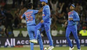 NZ vs IND 5th T20 : भारत ने न्यूजीलैंड को 7 रन से हराया, टी20 क्रिकेट में 5-0 से सीरीज जीतने वाली पहली टीम