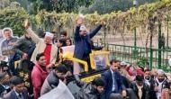Delhi Elections 2020: CM Arvind Kejriwal holds roadshow in Dwarka