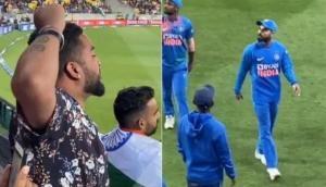 Indian fans chant 'Anushka Bhabhi Zindabad' to draw attention of Virat Kohli