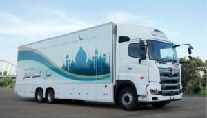 टोक्यो ओलंपिक में मुस्लिम खिलाड़ियों के लिए आयोजकों ने चलाई मोबाइल मस्जिद