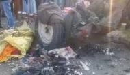 पंजाब: सिखों के नगर कीर्तन में पटाखा विस्फोट, ट्रैक्टर के उड़े परखच्चे, 15 लोगों की दर्दनाक मौत