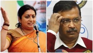 Smriti Irani slams Arvind Kejriwal after Delhi CM asks women to discuss vote with men