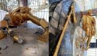 Mahatma Gandhi's statue desecrated in Jharkhand