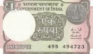 आ गया एक रुपये का नया नोट, वित्त मंत्रालय के पास होगी प्रकाशित करने की जिम्मेदारी