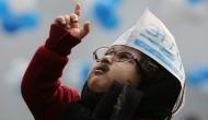 दिल्ली जीतते ही भारत जीतने का सपना देखने लगी AAP, पार्टी दफ्तर पर लगे 'देश निर्माण के पोस्टर'