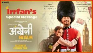 Angrezi Medium: Irrfan Khan's 'heartwarming' voice message will leave you teary-eyed; Hrithik Roshan, Varun Dhawan send good wishes