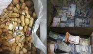 Video: मूंगफली से निलकने लगे नोटों के बंडल, अधिकारियों के उड़ गए होश