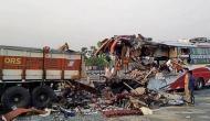 Firozabad Truck-Bus collision: Bihar CM expresses grief, announces ex-gratia of Rs 2 lakh